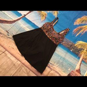 Longitude women's colorful swimsuit swim dress